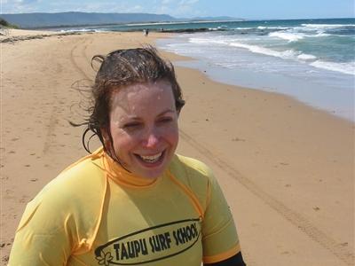 Karen Smock surf school