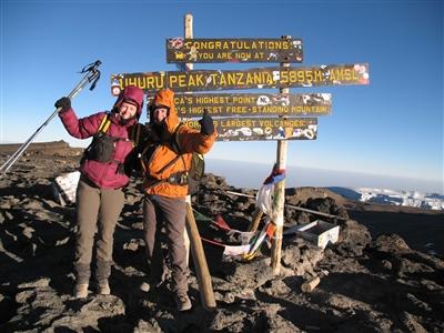 Karen Smock Kilimanjaro